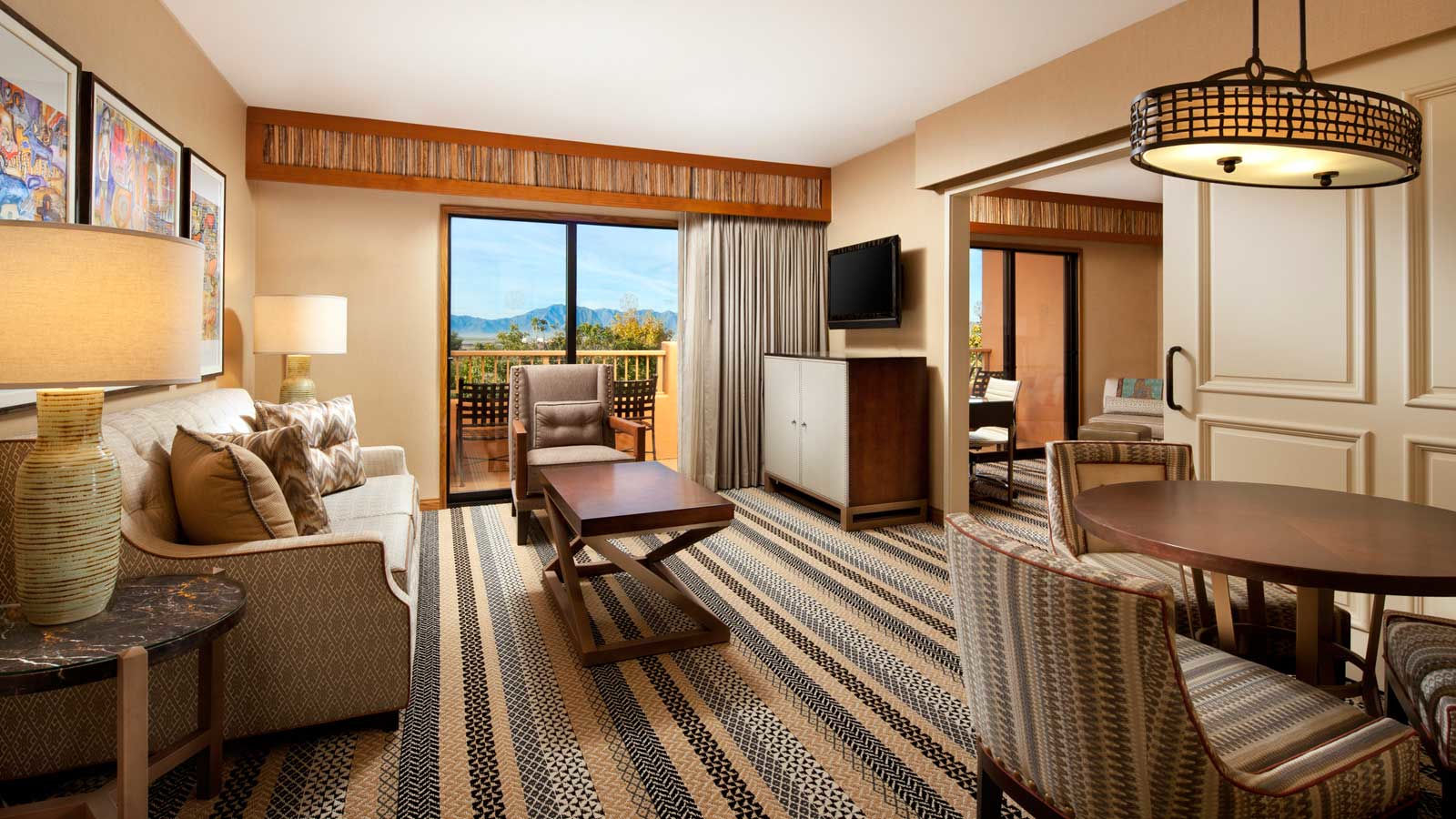 One Bedroom Executive Suite at the Sheraton Grand Resort at Wild Horse Pass