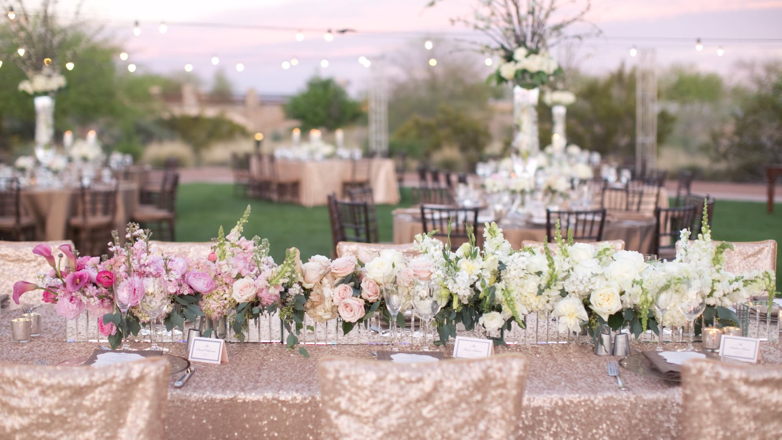 Phoenix Resort Wedding Venue - Outdoor Reception