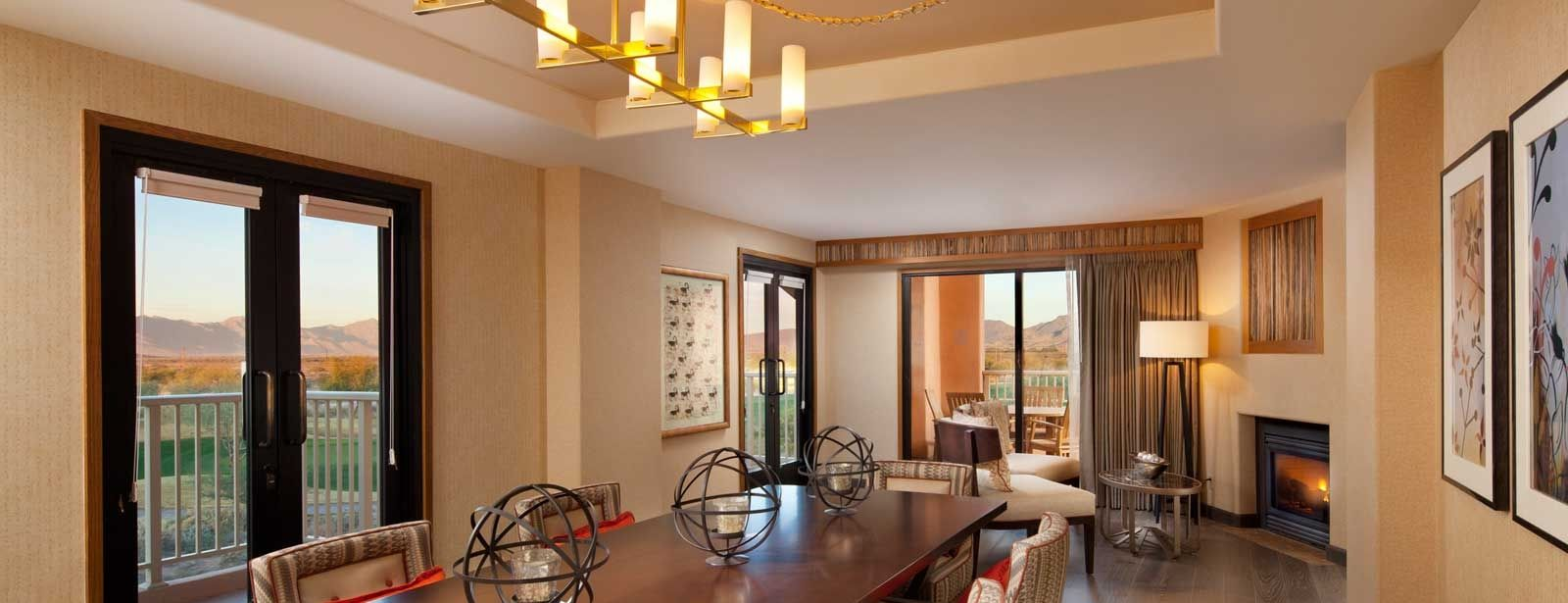 Luxurious Presidential Suite at the Sheraton Grand at Wild Horse Pass Resort